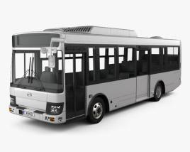 Hino Rainbow Bus 2016 3D model