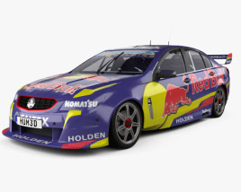 Holden Commodore VF Supercar 2013 3D model