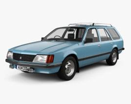 Holden Commodore Wagon 1981 3D model