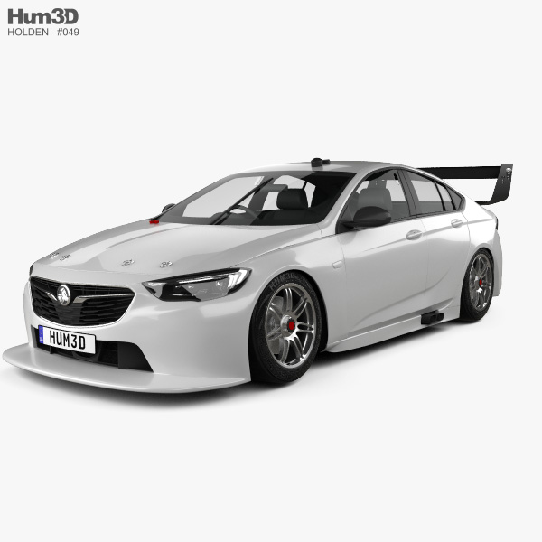 Holden Commodore (ZB) Supercar V8 2017 3D Model