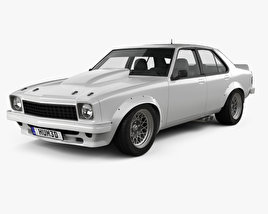 Holden Torana 4-door Race Car 1977 3D model