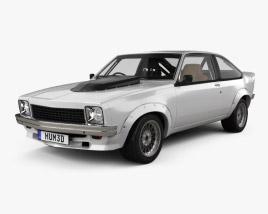 Holden Torana A9X Race with HQ interior 1979 3D model