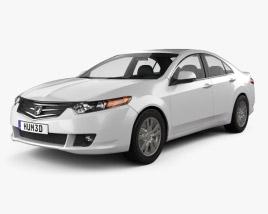 Honda Accord sedan 2009 3D model