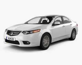 Honda Accord Sedan 2011 3D model