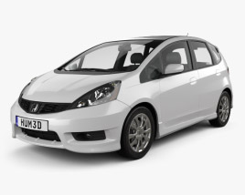 Honda Fit (Jazz) Sport 2012 3D model