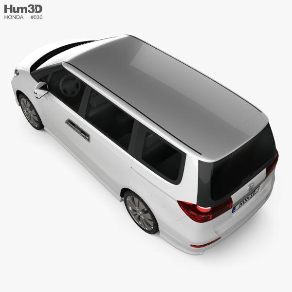 Honda Elysion 2012 3D model - Vehicles on Hum3D