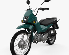 Honda POP 100 2012 3D model