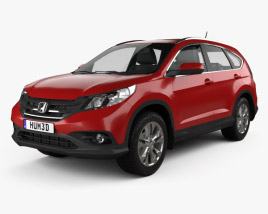 Honda CR-V EU 2012 3D model