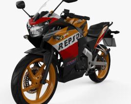 Honda CBR125R 2012 3D model