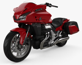 Honda CTX1300 2012 3D model