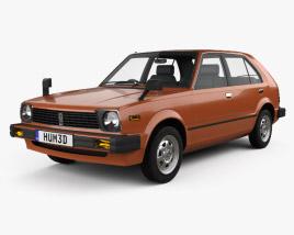 Honda Civic 1979 3D model