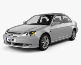 Honda Civic 2001 3D model