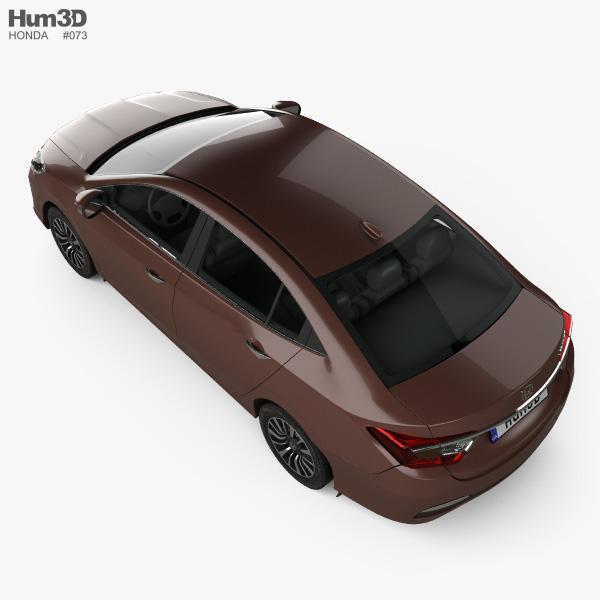 Honda Crider 2014 3D model - Vehicles on Hum3D