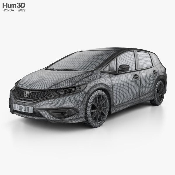 Honda Jade 2014 3D model - Vehicles on Hum3D