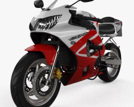 Honda CBR929RR 2000 3D model
