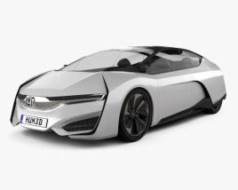 Honda FCEV 2013 3D model