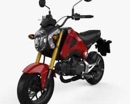 Honda Grom 125 2014 3D model