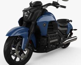 Honda Valkyrie GL1800C 2015 3D model