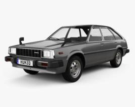 Honda Quint 1980 3D model