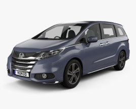 Honda Odyssey Absolute 2013 3D model