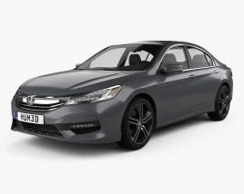 Honda Accord Touring 2016 3D model