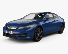 Honda Accord Сoupe Touring 2016 3D model