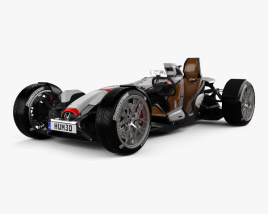 Honda Project 2&4 Ultimate Roadster 2015 3D model
