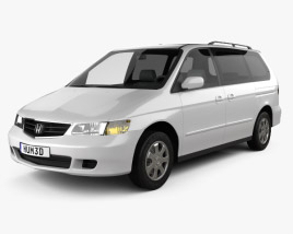 Honda Odyssey 1999 3D model