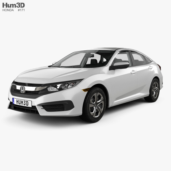 Honda Civic Lx With Hq Interior 2016 Model