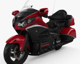 Honda GL1800 Gold Wing 2015 3D model