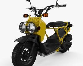Honda NPS50 Zoomer (Ruckus) 2005 3D model