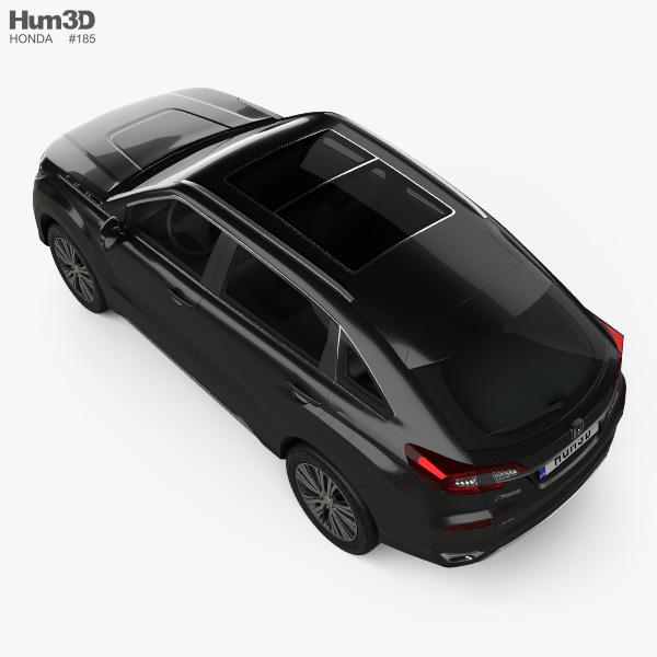 Honda Avancier 2016 3D model - Vehicles on Hum3D