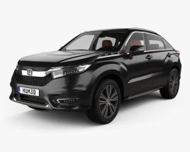 Honda Avancier with HQ interior 2016 3D model