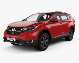 Honda CR-V Touring 2017 3D model