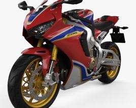 Honda CBR1000RR 2017 3D model