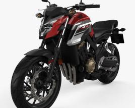 Honda CB650F 2017 3D model