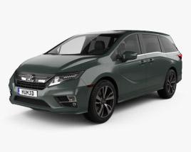 Honda Odyssey Elite 2018 3D model
