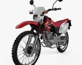 Honda XR230 2011 3D model