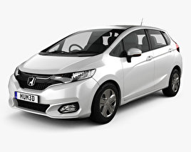 Honda Fit JP-spec 2017 3D model