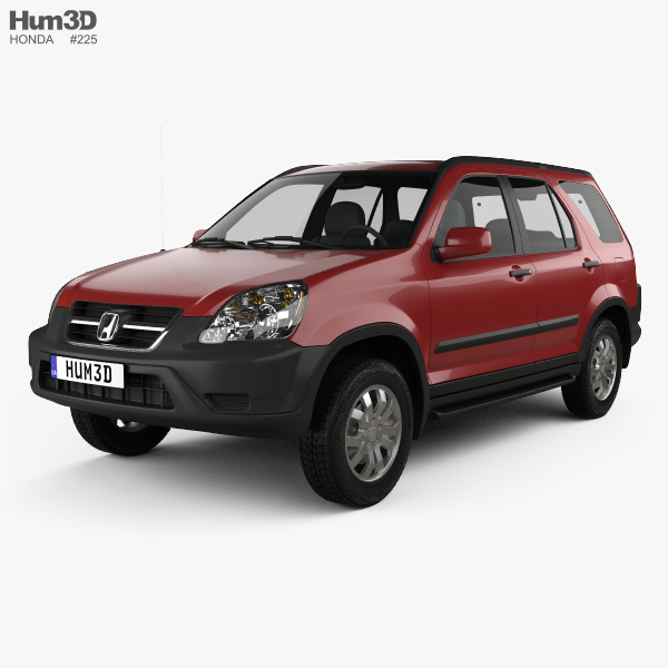 Honda cr v ex 2003 3d model hum3d for Dale sharp honda