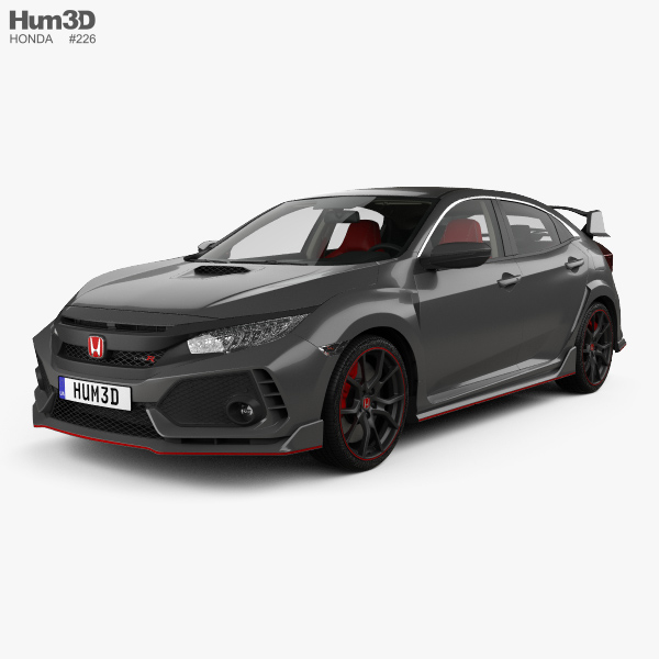 Honda Civic Type-R Prototype Hatchback With HQ Interior