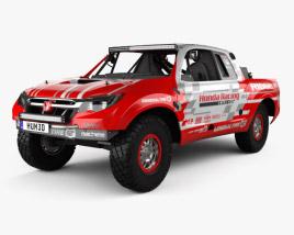 Honda Ridgeline Baja Race Truck 2016 3D model