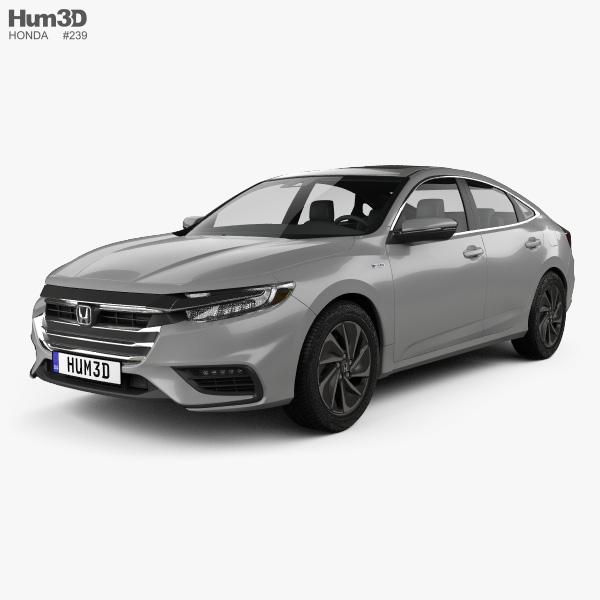 Honda Insight Touring 2018 3D Model