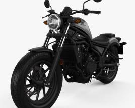 Honda Rebel 500 2018 3D model