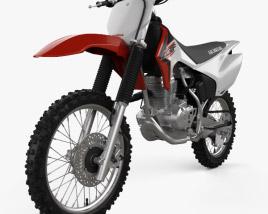 Honda CRF150F 2018 3D model