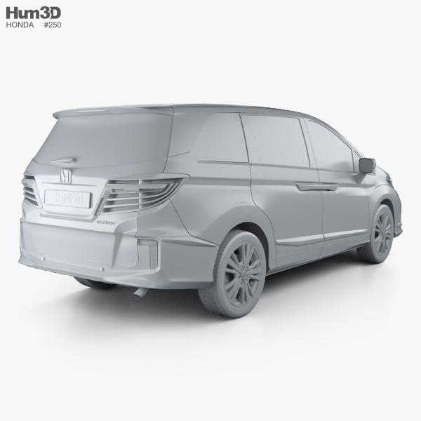 Honda Elysion 2016 3D model - Vehicles on Hum3D