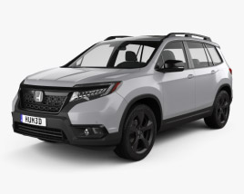 Honda Passport Elite 2019 3D model