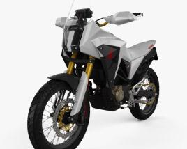 Honda CB125X 2018 3D model