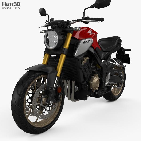 honda cb650r 2019 3d model vehicles on hum3d. Black Bedroom Furniture Sets. Home Design Ideas