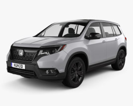 Honda Passport Sport 2019 3D model
